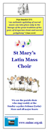 Choir Leaflet