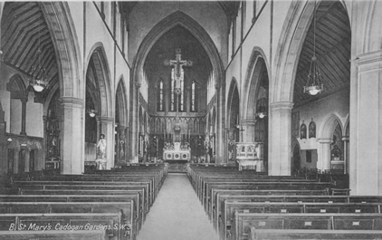 St Mary's Nave Pre-Reordering